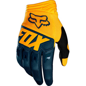 Fox Dirtpaw Bike Gloves Men yellow/blue